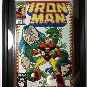 Iron Man #270 Framed Marvel comic book Avengers